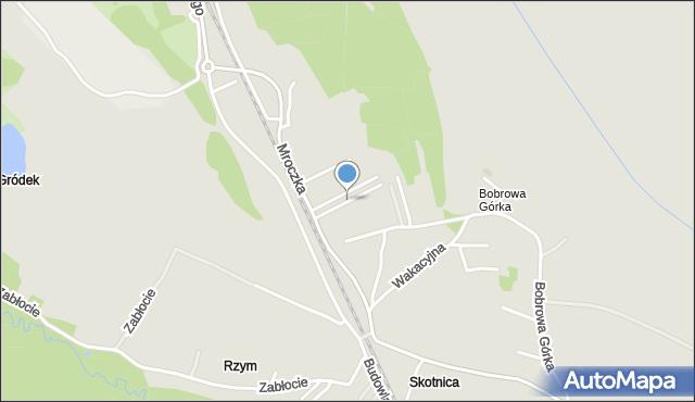 Jaworzno, Bałuckiego Michała, mapa Jaworzno