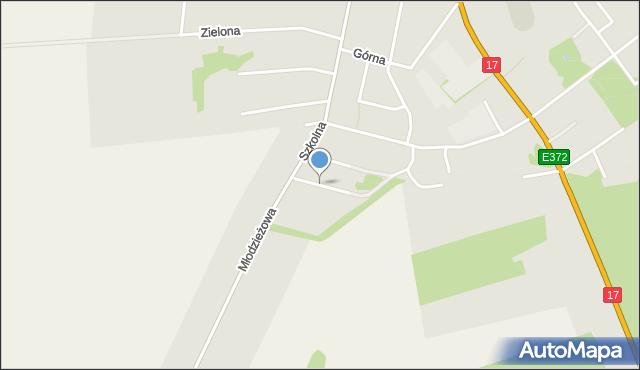 Lubycza Królewska, Barców Stefanii i Tadeusza, mapa Lubycza Królewska