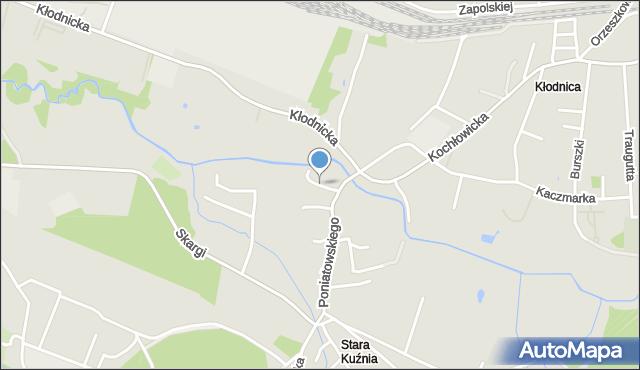 Ruda Śląska, Bagienna, mapa Rudy Śląskiej