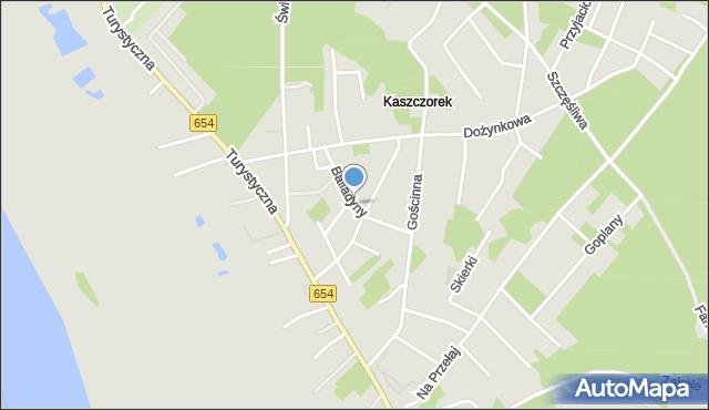 Toruń, Balladyny, mapa Torunia