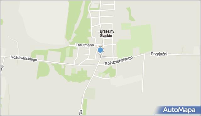 Piekary Śląskie, Bednorza Herberta, bp., mapa Piekary Śląskie