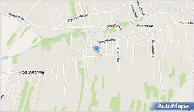 Rzeszów, Bednarska, mapa Rzeszów