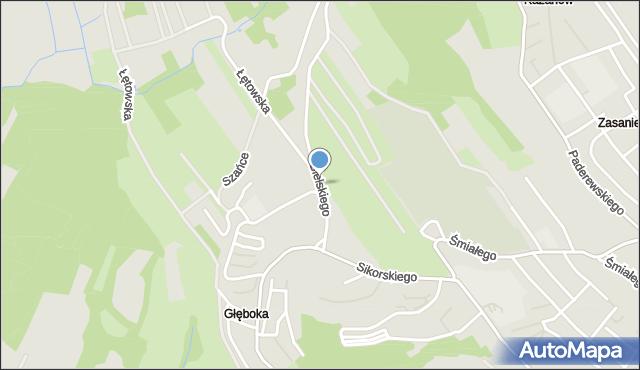 Przemyśl, Bielskiego Marcina, mapa Przemyśla