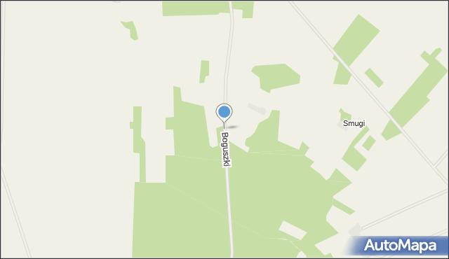Boguszki gmina Trzcianne, Boguszki, mapa Boguszki gmina Trzcianne