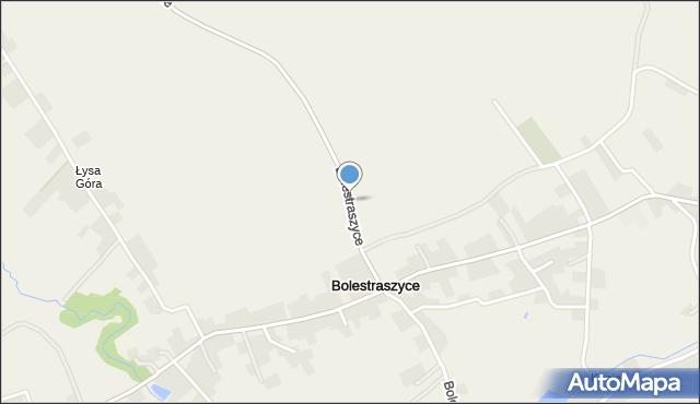 Bolestraszyce, Bolestraszyce, mapa Bolestraszyce