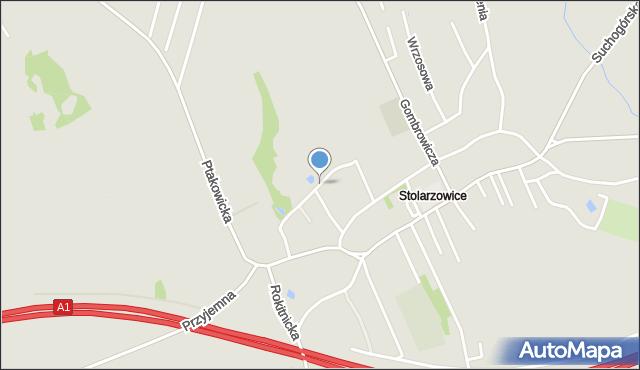Bytom, Boya-Żeleńskiego Tadeusza, mapa Bytomia