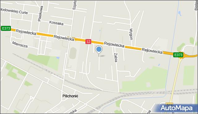 Chełm, Bociania, mapa Chełma