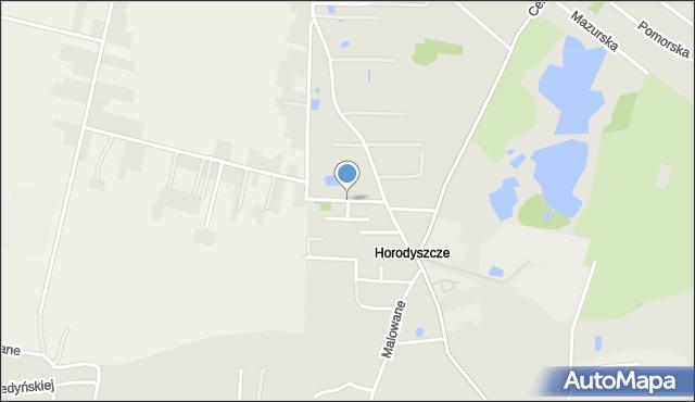 Chełm, Bogdanowicza Kazimierza, mapa Chełma