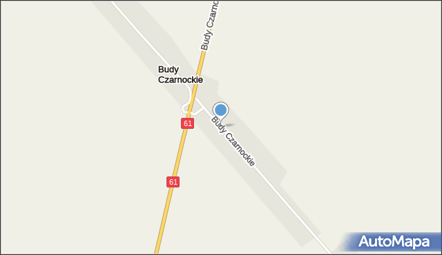 Budy Czarnockie, Budy Czarnockie, mapa Budy Czarnockie