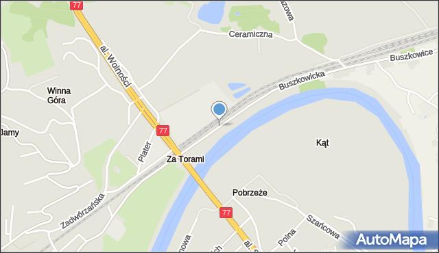 Przemyśl, Buszkowicka, mapa Przemyśla