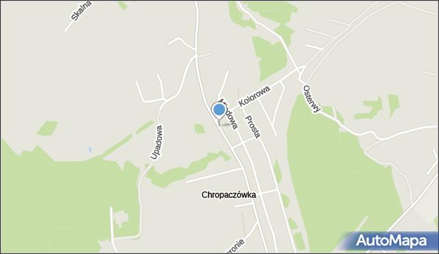 Jaworzno, Chropaczówka, mapa Jaworzno