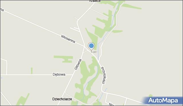 Poręba powiat zawierciański, Ciemna, mapa Poręba powiat zawierciański