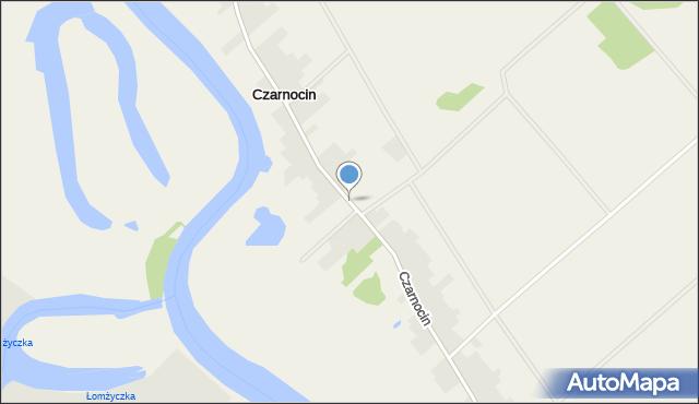 Czarnocin gmina Piątnica, Czarnocin, mapa Czarnocin gmina Piątnica