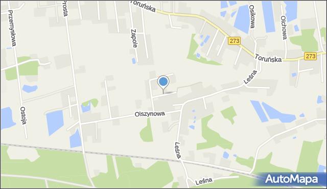 Mała Nieszawka, Czeremchowa, mapa Mała Nieszawka