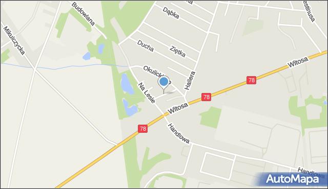 Zabrze, Czekanowska, mapa Zabrza