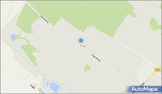 Mikołów, Darwina Karola, mapa Mikołów