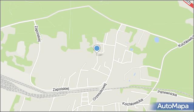 Ruda Śląska, Dąbrowskiej Marii, mapa Rudy Śląskiej