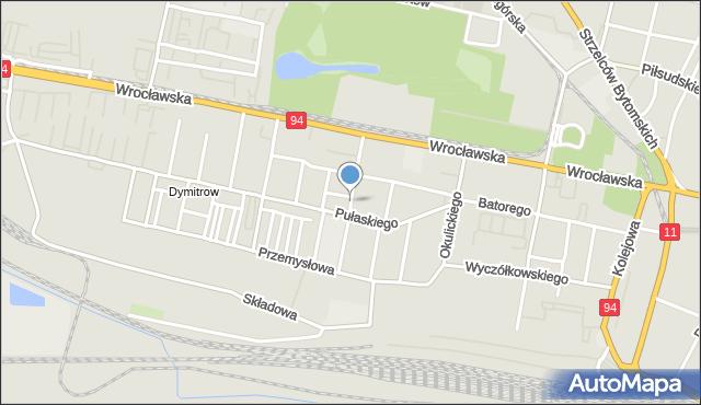 Bytom, Didura Adama, mapa Bytomia