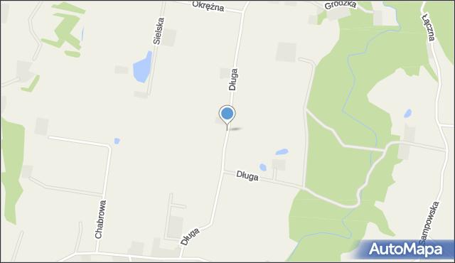 Barłomino, Długa, mapa Barłomino