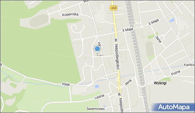 Sopot, Długosza Jana, mapa Sopotu