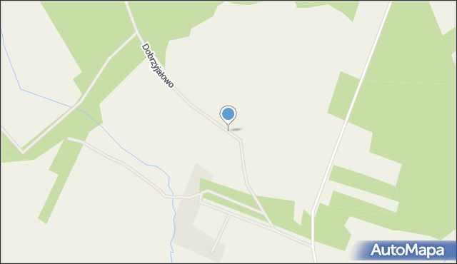 Dobrzyjałowo, Dobrzyjałowo, mapa Dobrzyjałowo