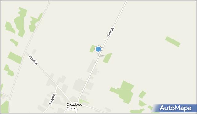 Drozdowo gmina Piątnica, Dolna, mapa Drozdowo gmina Piątnica