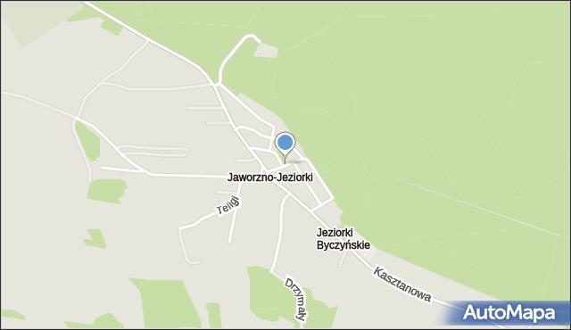 Jaworzno, Dożynkowa, mapa Jaworzno