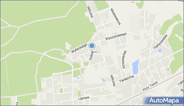 Luzino, Dobra, mapa Luzino