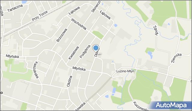 Luzino, Dolna, mapa Luzino