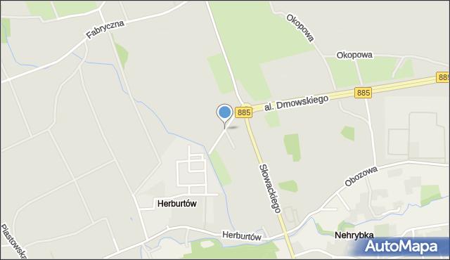 Przemyśl, Dojazdowa, mapa Przemyśla