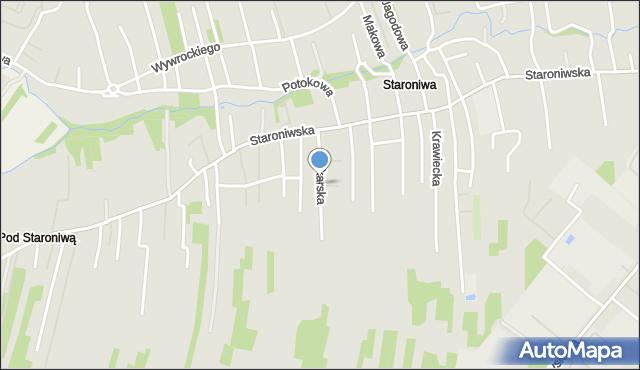 Rzeszów, Drukarska, mapa Rzeszów