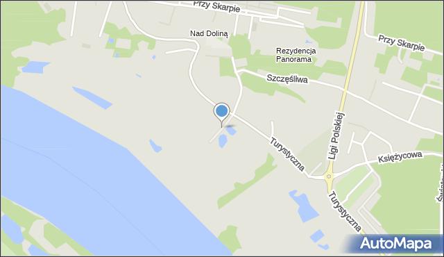 Toruń, Droga Łąkowa, mapa Torunia