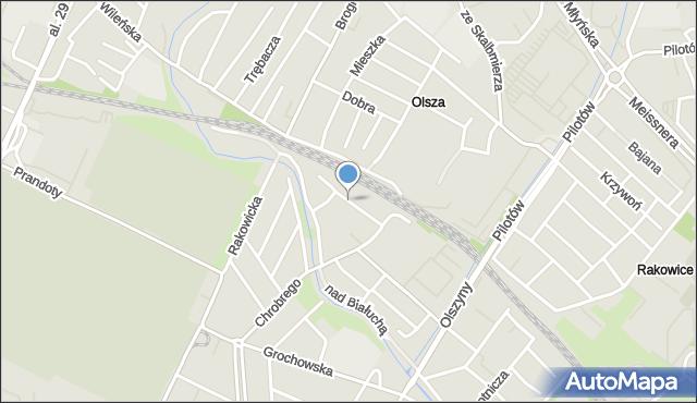 Kraków, Dukatów, mapa Krakowa