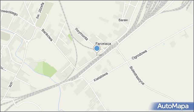 Żurawica powiat przemyski, Dworcowa, mapa Żurawica powiat przemyski