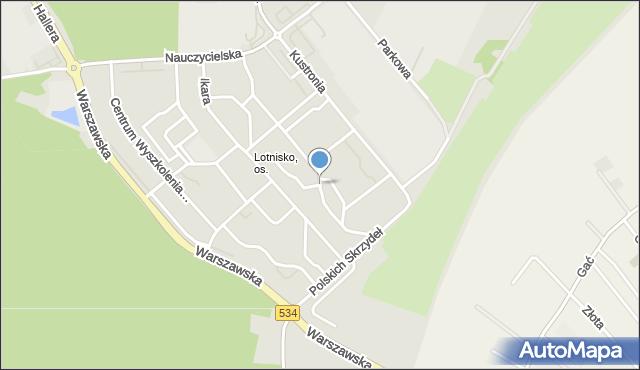 Grudziądz, Dywizjonu 303, mapa Grudziądza