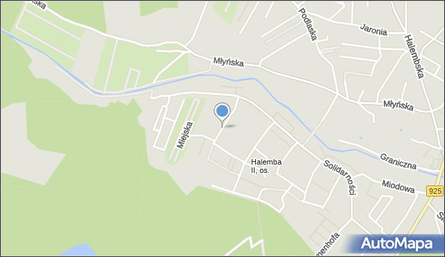 Ruda Śląska, Energetyków, mapa Rudy Śląskiej