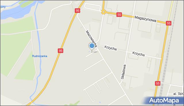 Grudziądz, Feldmana Jerzego, mapa Grudziądza