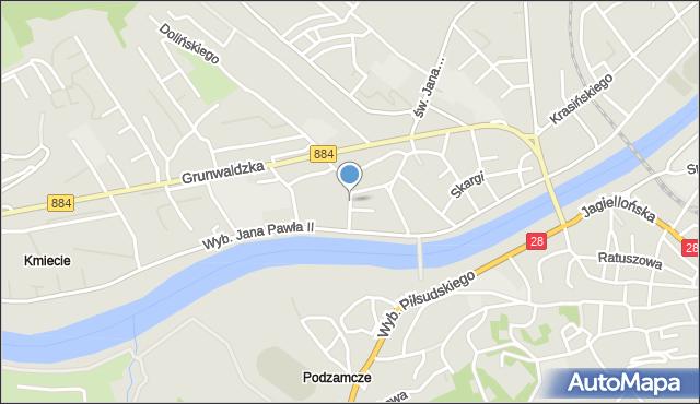 Przemyśl, Felicjanek, mapa Przemyśla