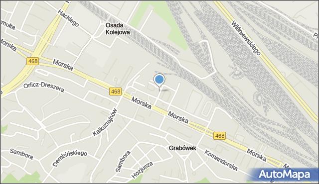 Gdynia, Filomatów, mapa Gdyni
