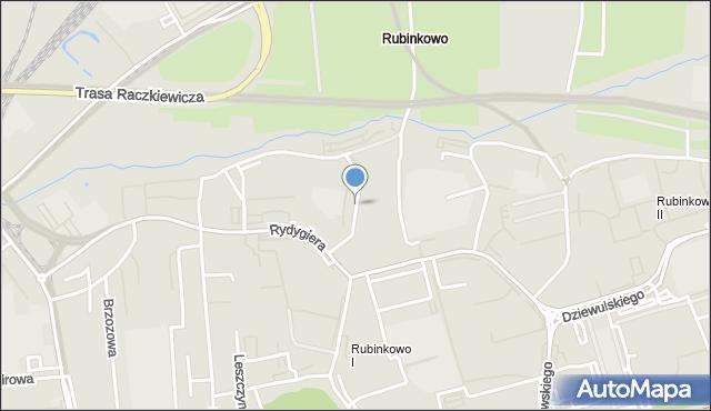 Toruń, Filomatów Pomorskich, mapa Torunia