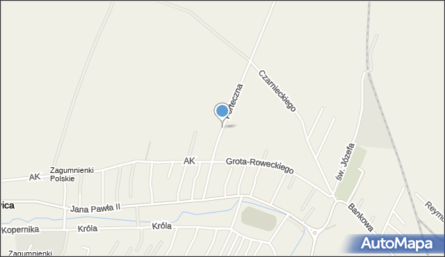 Żurawica powiat przemyski, Forteczna, mapa Żurawica powiat przemyski