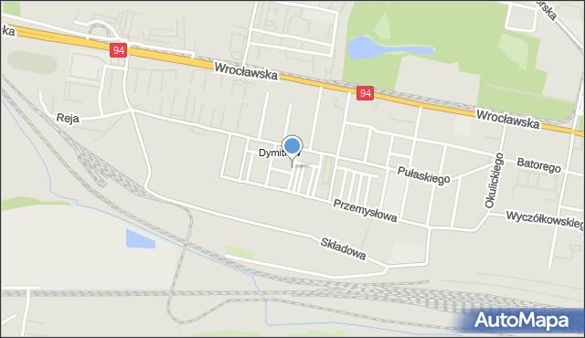 Bytom, Franciszka Żwirki i Stanisława Wigury, mapa Bytomia