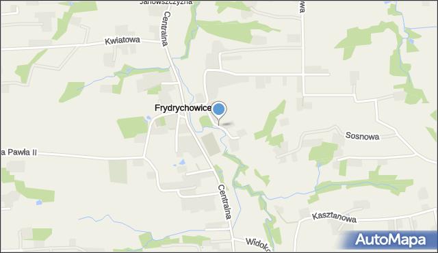 Frydrychowice, Frydrychowice, mapa Frydrychowice