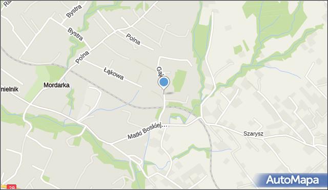 Limanowa, Gajowa, mapa Limanowa