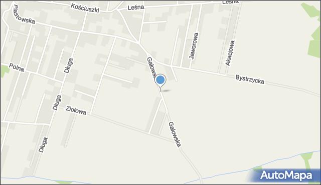 Lutynia gmina Miękinia, Gałowska, mapa Lutynia gmina Miękinia