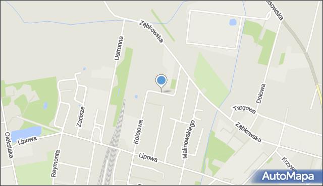 Sokołów Podlaski, Gagarina, mapa Sokołów Podlaski