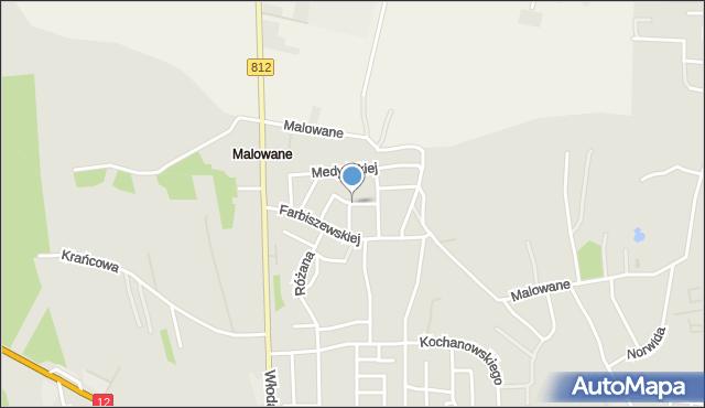 Chełm, Glogera Zygmunta, mapa Chełma