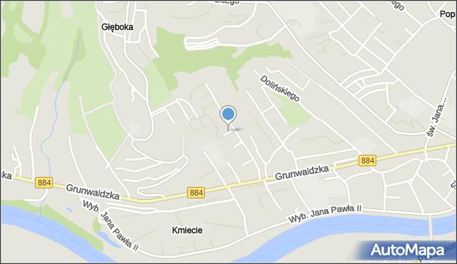 Przemyśl, Głogowska, mapa Przemyśla