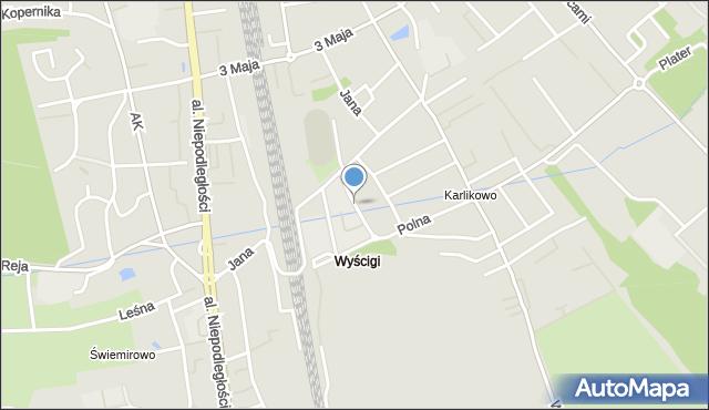 Sopot, Głowackiego Bartosza, mapa Sopotu