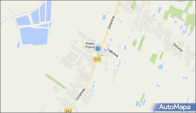 Pokrówka, Gminna, mapa Pokrówka